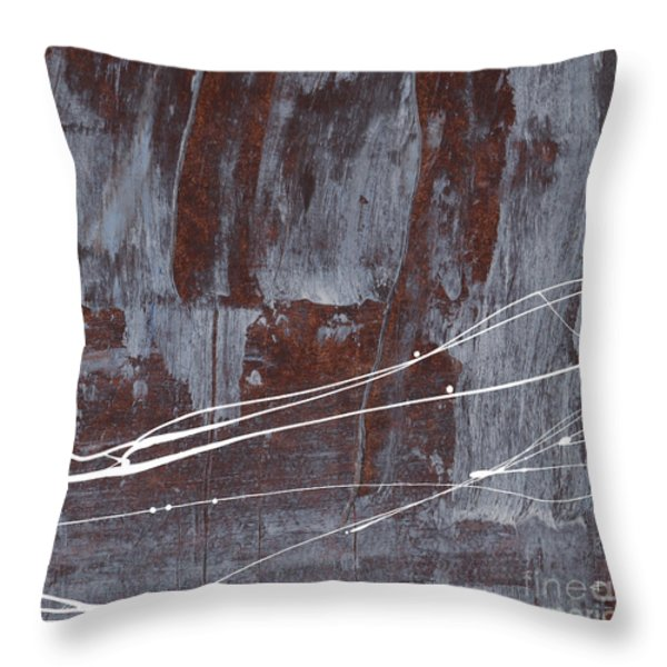 Angst I Throw Pillow by Paul Davenport
