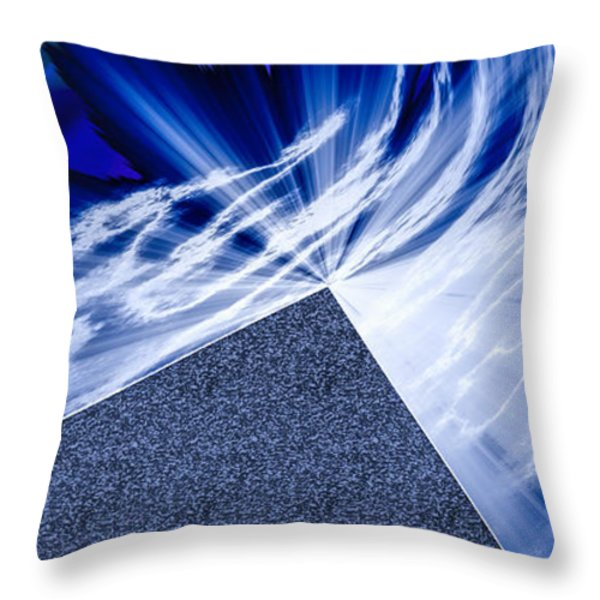 Another Pathway Through The Cosmos Throw Pillow by Kellice Swaggerty