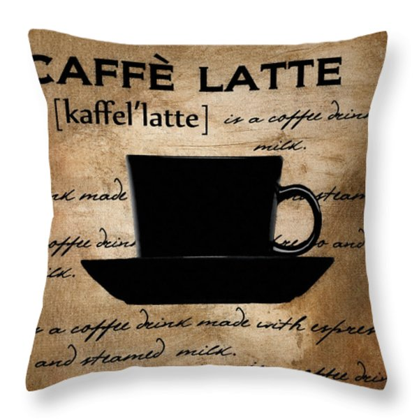 Another Sip Throw Pillow by Lourry Legarde