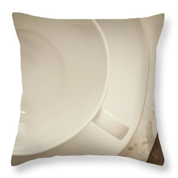 Anticipation Throw Pillow by Amy Weiss