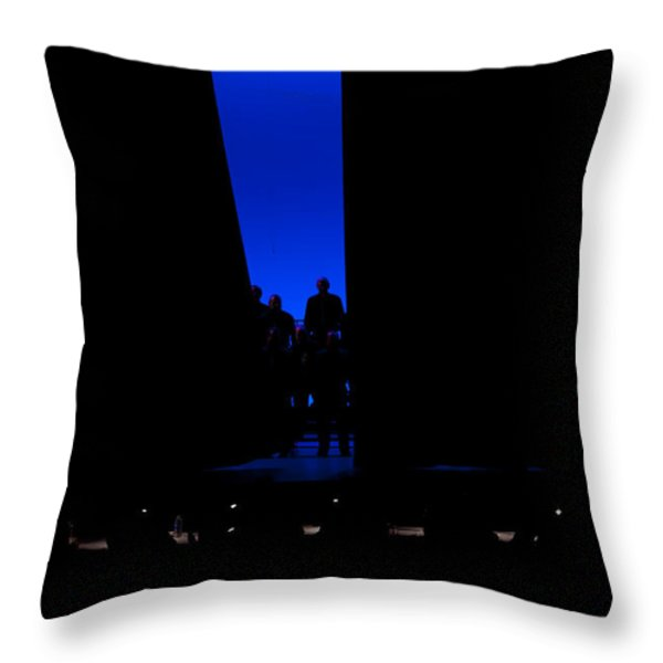Anticiption Throw Pillow by Jim Finch