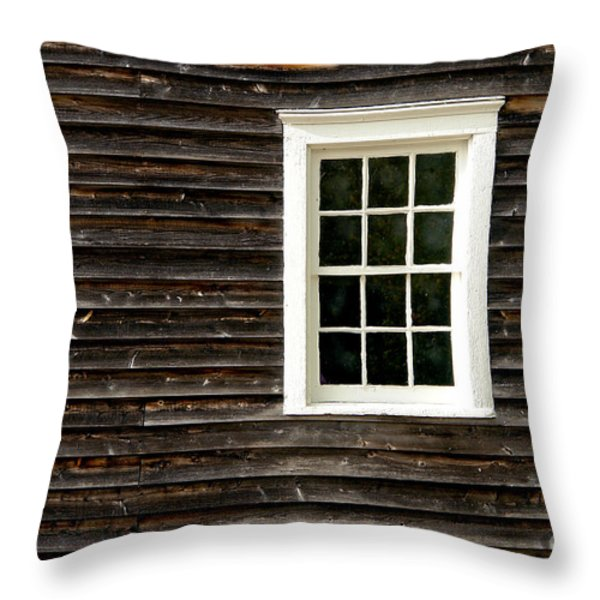 Antique Window Throw Pillow by Olivier Le Queinec