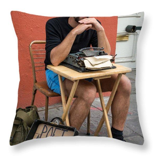 Antoine Throw Pillow by Steve Harrington