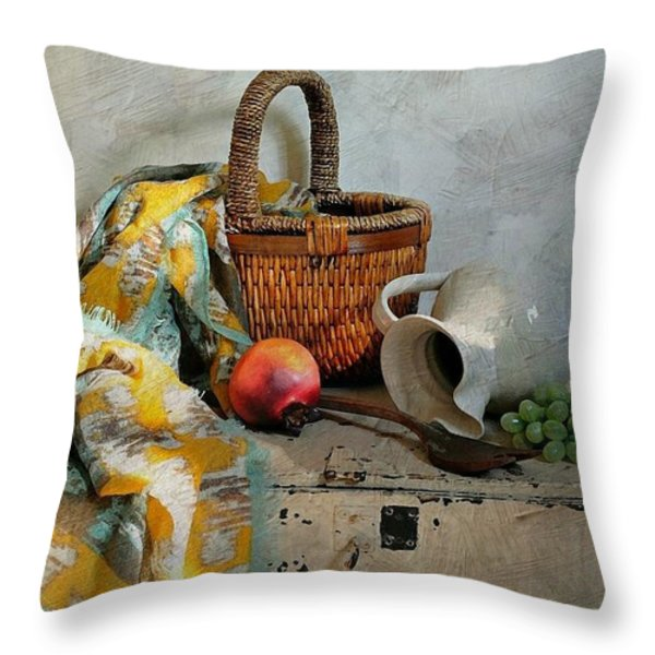 Any Day Throw Pillow by Diana Angstadt