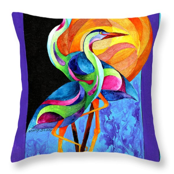 Anywhere Is Throw Pillow by Sherry Shipley