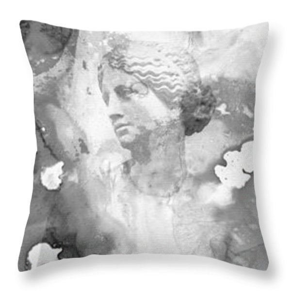 Aphrodite's First Love 2 - Guitar Art By Sharon Cummings Throw Pillow by Sharon Cummings