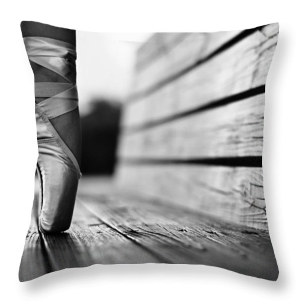 Aplomb Throw Pillow by Laura  Fasulo