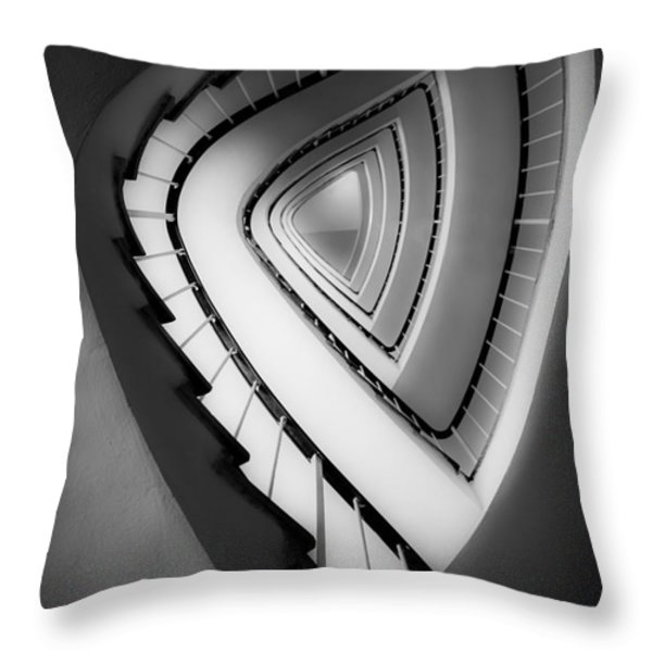 Architect's Beauty Throw Pillow by Hannes Cmarits