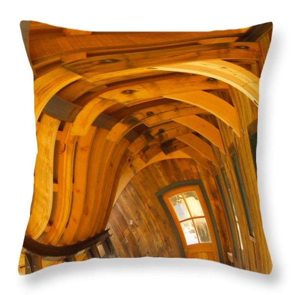 Architecture by Seuss Throw Pillow by Omaste Witkowski