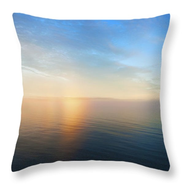Arctic Colors... Throw Pillow by Nina Stavlund