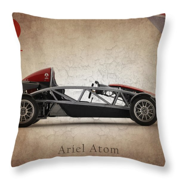 Ariel Atom Throw Pillow by Mark Rogan