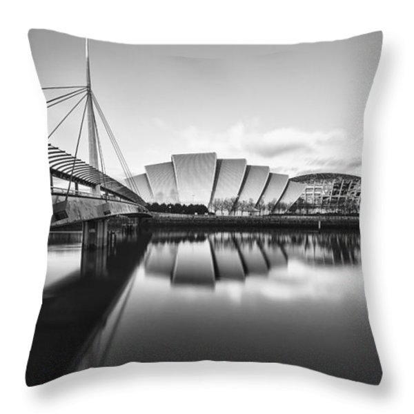 Armadillo Glasgow Scotland Throw Pillow by John Farnan