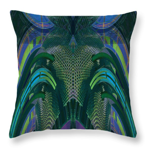 Armadillus Rex Throw Pillow by Bill Jonas
