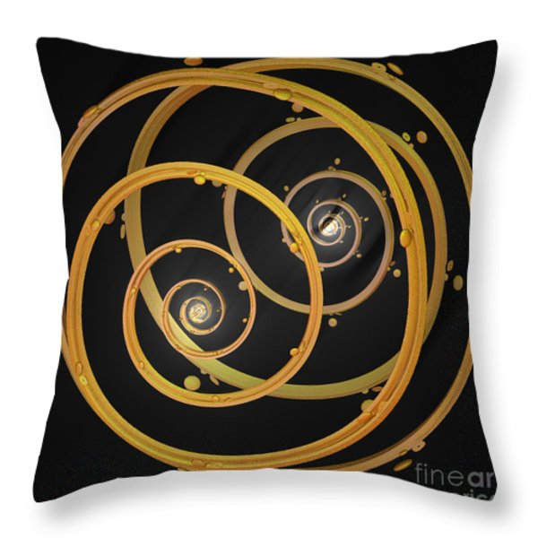 Armillary By Jammer Throw Pillow by First Star Art
