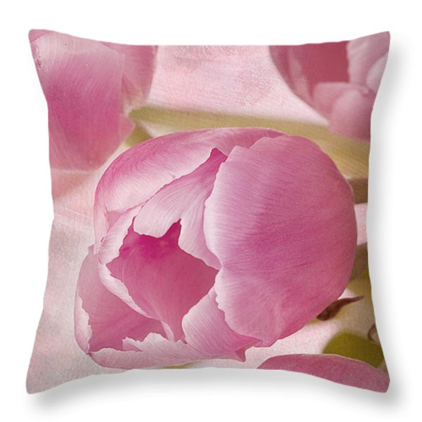 Aroma D'amor Throw Pillow by A New Focus Photography