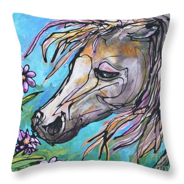 Aromatherapy Throw Pillow by Jonelle T McCoy