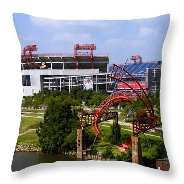 Art and Sport Throw Pillow by Shelle Ettelson