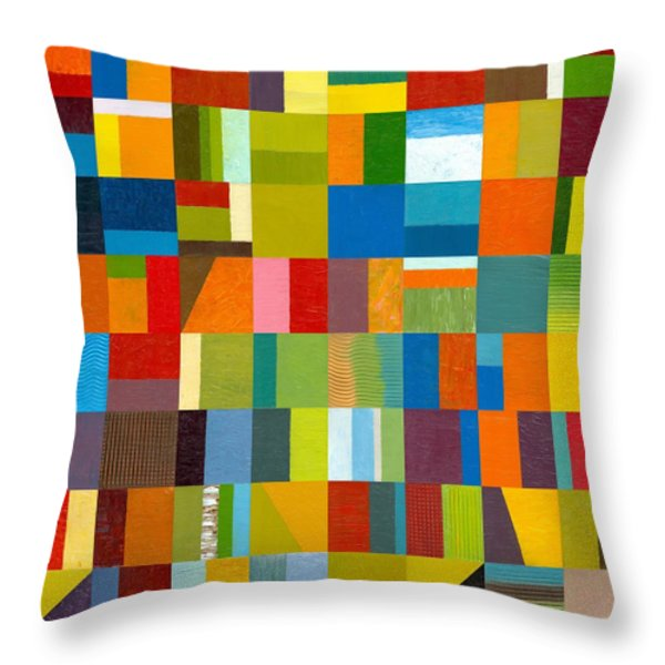 Artprize 2012 Throw Pillow by Michelle Calkins