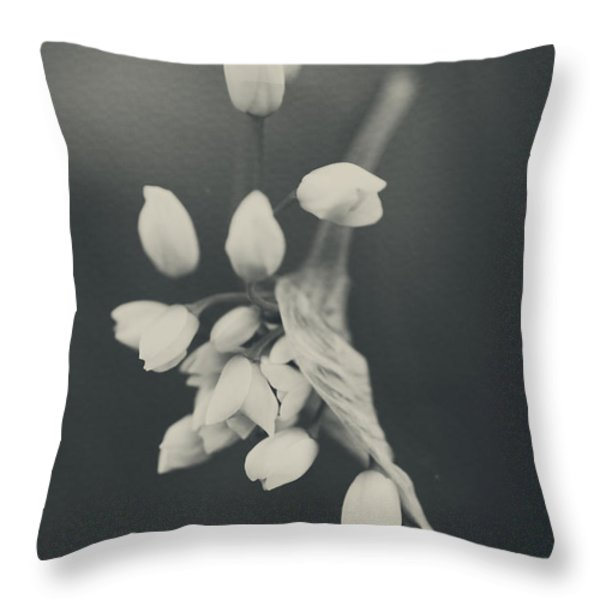 As I Emerge Throw Pillow by Laurie Search
