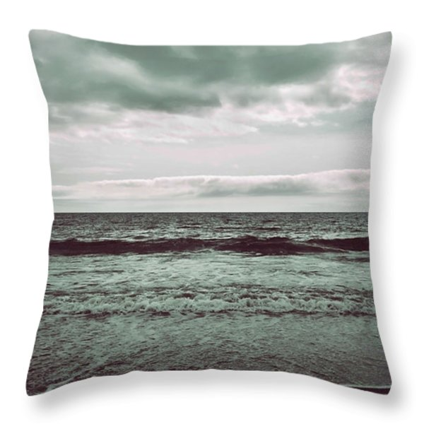As My Heart Is Being Crushed Throw Pillow by Laurie Search
