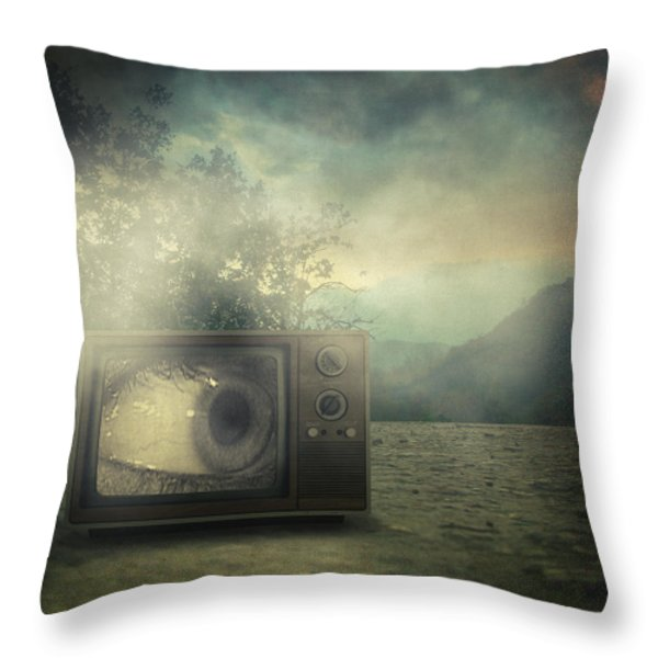 As Seen On Tv Throw Pillow by Taylan Soyturk