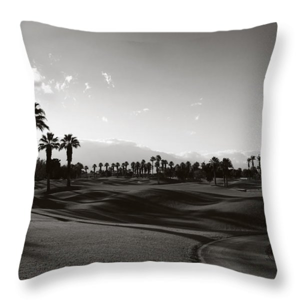 As Shadows Spread Across The Land Throw Pillow by Laurie Search