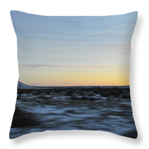 As time flies by Throw Pillow by Meandering Photography