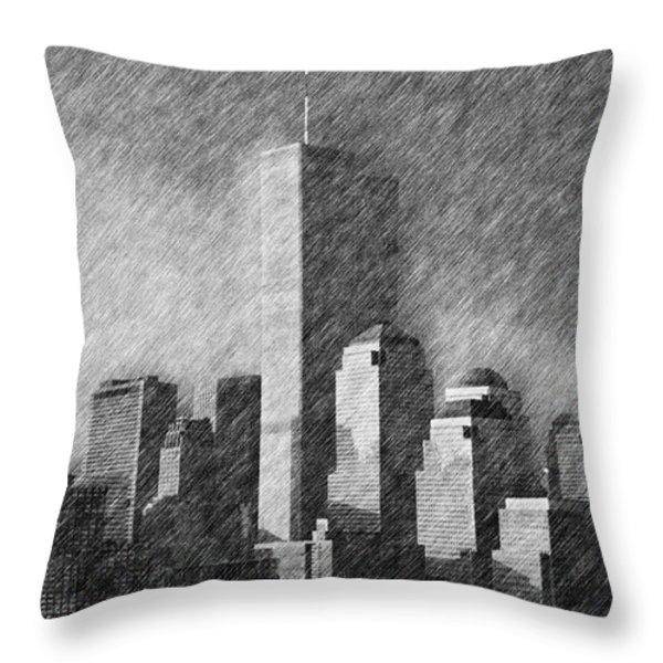 As You Were Throw Pillow by Joann Vitali