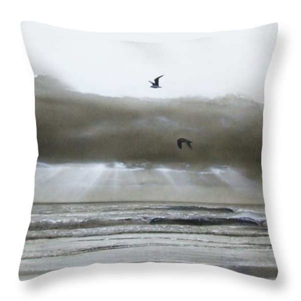 'ascension II' Throw Pillow by Christian Chapman Art
