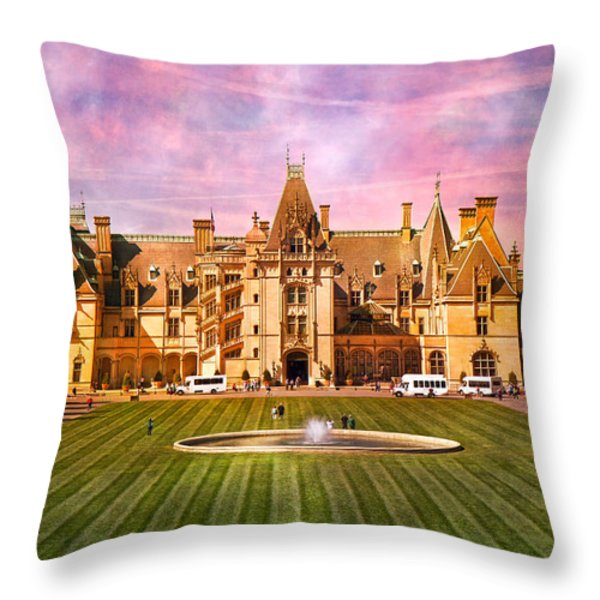Asheville Beauty Throw Pillow by Betsy A  Cutler