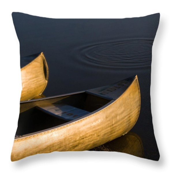 At Sunrise Throw Pillow by Dale Kincaid