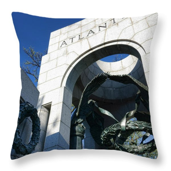 Atlantic Throw Pillow by Olivier Le Queinec