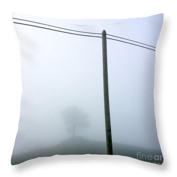 Atmosphere Throw Pillow by Bernard Jaubert