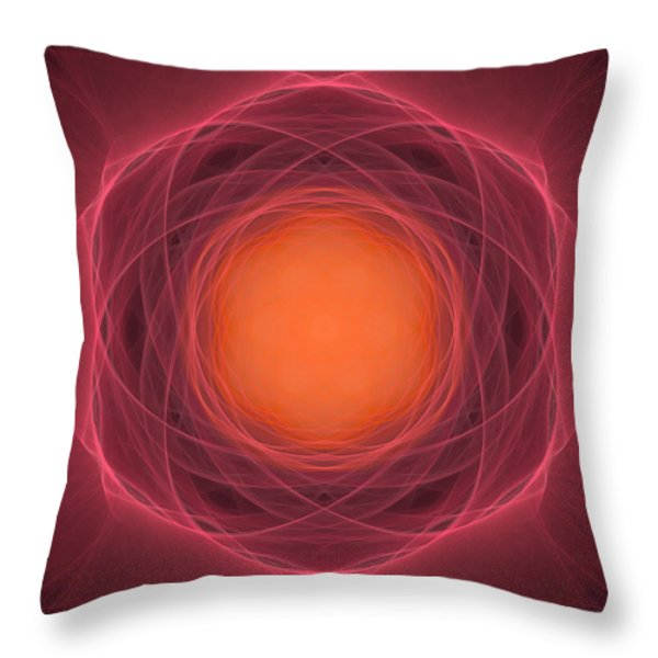 Atome-13 Throw Pillow by RochVanh