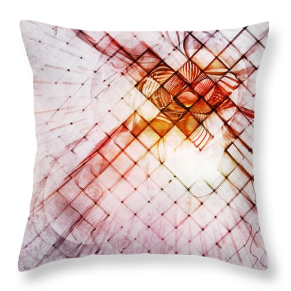 Atrium Throw Pillow by Scott Norris