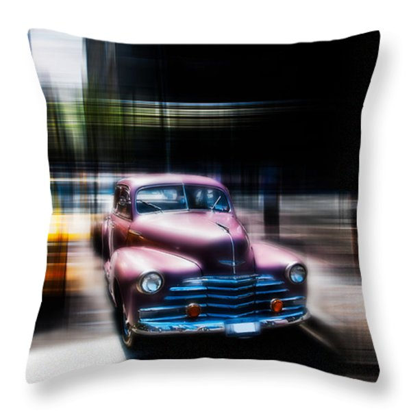 attracting curves III2 Throw Pillow by Hannes Cmarits