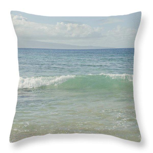 Aumakua O Ka Wai Throw Pillow by Sharon Mau