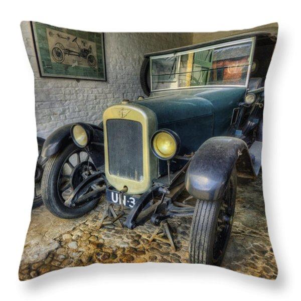 Austin Seven Throw Pillow by Ian Mitchell