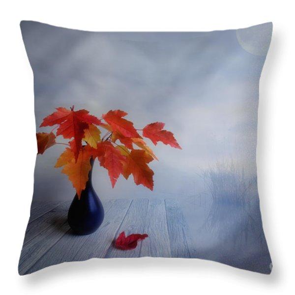 Autumn Colors Throw Pillow by Veikko Suikkanen