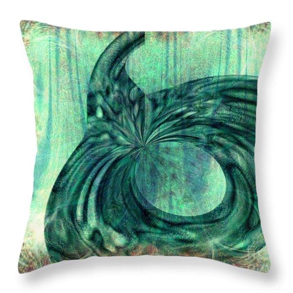 Autumn Dream Throw Pillow by Elizabeth S Zulauf