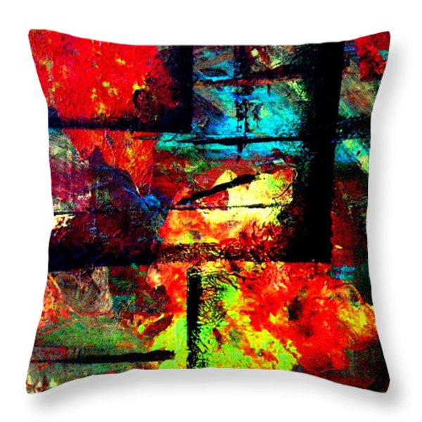 Autumn Throw Pillow by Eric Moore