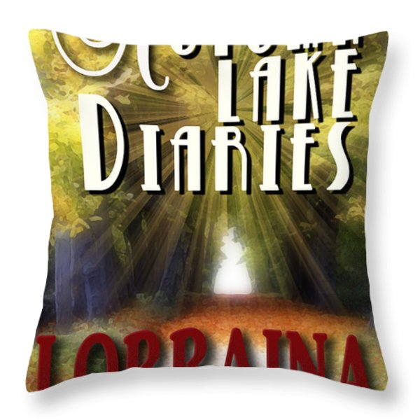 Autumn Lake Diaries Throw Pillow by Mike Nellums