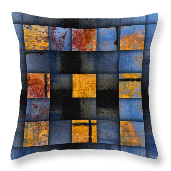 Autumn Reflections Throw Pillow by Carol Leigh