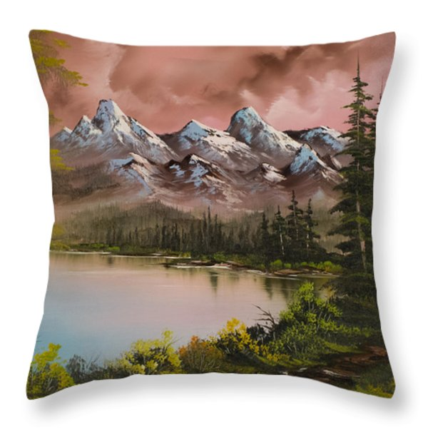 Autumn Storm Throw Pillow by C Steele