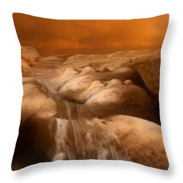 Awaken Throw Pillow by Jack Zulli