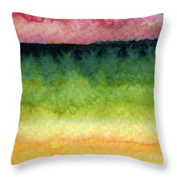 Awakened Too Throw Pillow by Linda Woods