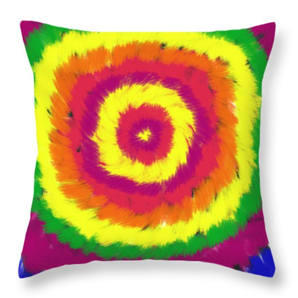 Awakening Throw Pillow by Daina White