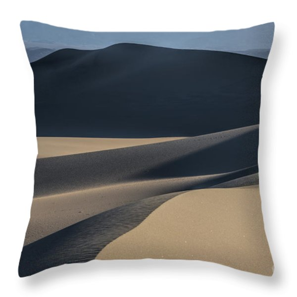 Awakening  Throw Pillow by Sandra Bronstein