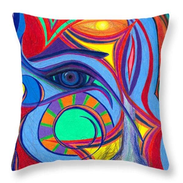 Awakening to Thy True Self Throw Pillow by Daina White