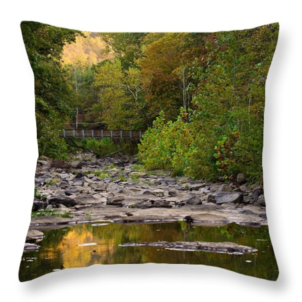 Away From It All Throw Pillow by Gregory Ballos